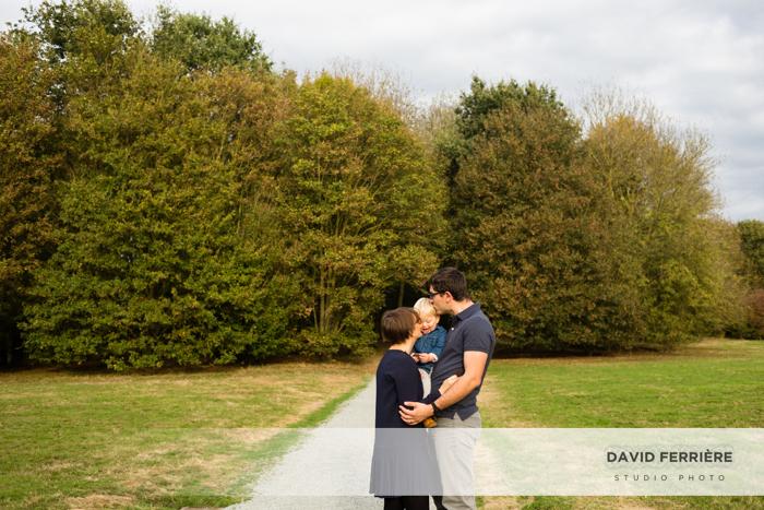 seance photo portrait famille rennes foret gayeulles parc
