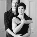 Mademoiselle M. et Monsieur B., un portrait entre frère et soeur