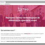 L'équipe d'ORFEO dans les rues du vieux Rennes