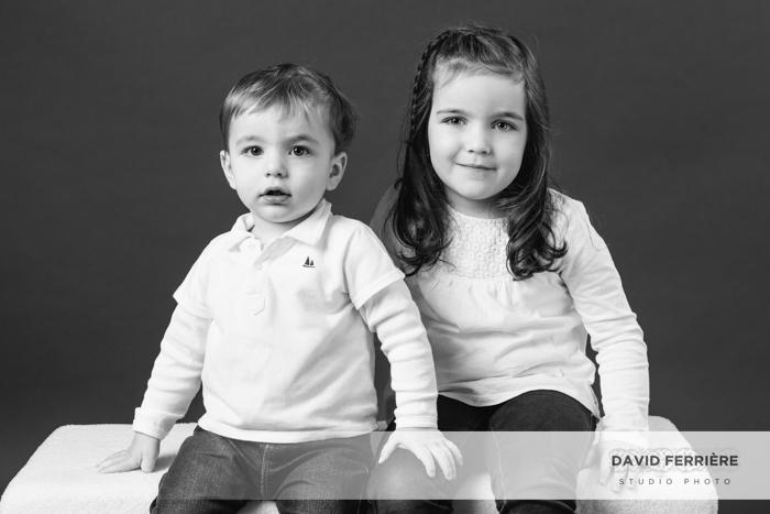 rennes photo portrait shooting enfant noir et blanc