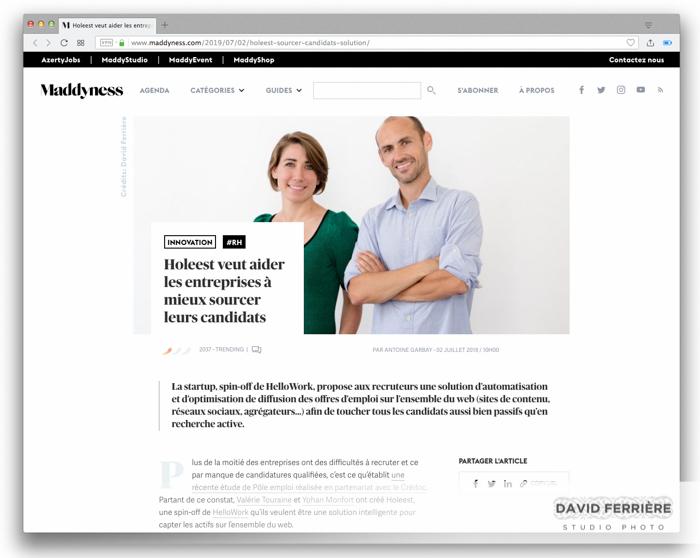 HOLEEST rennes Startup