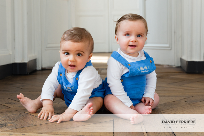 rennes portrait famille bebe jumeaux studio photo shooting