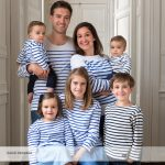 Une grande et belle famille au studio