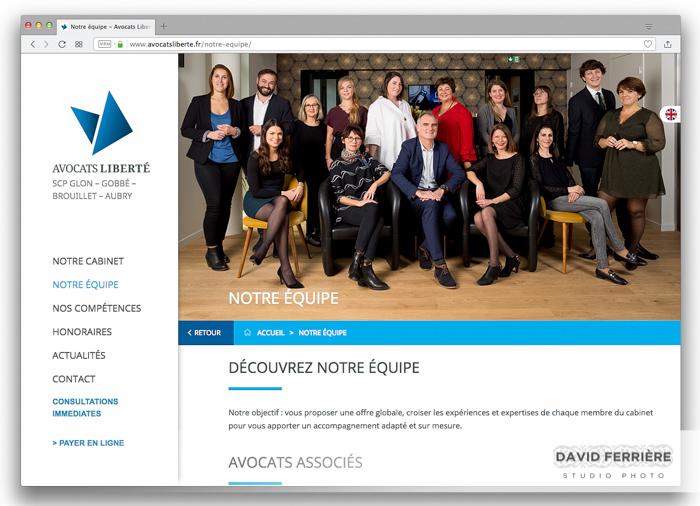 portrait equipe avocat rennes