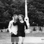 Mademoiselle M. et Monsieur E., une séance en amoureux au Thabor