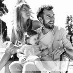 Mademoiselle G. et ses parents, une séance en famille au Parc du Thabor