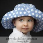 Mademoiselle M. et son joli chapeau …