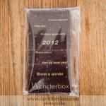 la carte de voeux en chocolat signée wonderbox
