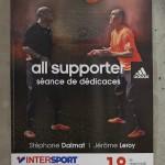 visuel pour Adidas (séance dédicace à Rennes)