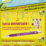 Création d'un visuel pour les 10 ans de la société KERINK à Rennes