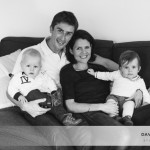 Mademoiselle A., Monsieur T. et leurs parents (un portrait de famille à domicile près de Rennes)