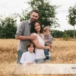 Séance portrait de famille champêtre près de Rennes