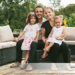 Un portrait en famille à domicile près de Rennes