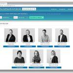 Photo d'équipe et portraits pour l'agence Cimm Immobilier